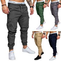 Pantaloni da uomo Harem Pantaloni larghi in cotone Elastico in vita Pantaloni lunghi Pantaloni da jogger Pantaloni sportivi Pantaloni skinny a matita M-4XL
