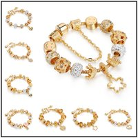 Fashion 21styles Golden Charm Strands for European Glass All...