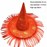 Halloween Hat Witch Hat Fancy Dress Party Costume Cap Party ...