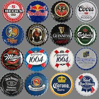 Beer Cap Wall Art Vintage Metal Tin Signs For Wall Decor Iro...