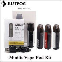 100% Authentic JUSTFOG Minifit Vape Pod Starter Kit 370mAh A...