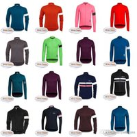 Maglia RAPHA Cycling Winter Thermal Fleece jersey NOVITÀ Winter keep warm Long Cycling Jersey Tops Traspirante Personalizzato 83021J