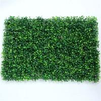 محاكاة نبات الجدار وميلان غراس العشب الأوكالبتوس العشب الاصطناعي البلاستيك محاكاة الحديقة خلفية ديكور جدار النبات