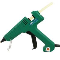 Freeshipping 25W / 60W / 100W / 150W Hot Melt Lijmpistool Professionele Pistolet Een Colle Mini voor Metaal / Hout Werkstok Papier Haarspeld PU Bloem