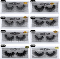 3d Mink Hair Fake Eyelash 100% Thick real mink HAIR false ey...