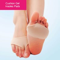 Cushion Gel Insoles Pads Cushions Forefoot Pain Support Fron...