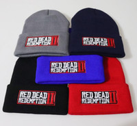 5 color Red Dead Redemption 2 Hat Movie Cap Beanie Knitted C...