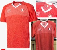 17 18 Switzerland soccer Jersey Uniform National Team Swiss ...