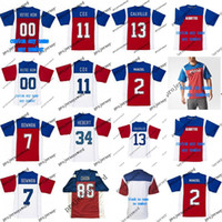 2018 New Style Montreal Alouettes 2 Johnny Manziel 13 Anthony Calvillo 86 Ben Cahoon Mens Womens Youth Personalized Football Jerseys