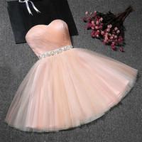 Riktigt prov billigt mini party klänning sexig rosa kort tätt homecoming klänningar 2018 kortkvalitet prom klänningar vestido de festa curto
