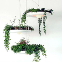 Newest Nordic Hanging Garden Potted Chandelier DIY Deco Art ...