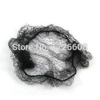 أعلى جودة نايلون الشعر صافي الرقص الكعك ريسيتال / الشعر التمديد نسج كاب أسود غير مرئية شباك كعكة الخفية hairnets