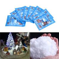 Искусственные снежинки поддельные магия мгновенный снег фестиваль украшения партии для Рождества свадьба искусственный снег ночь DIY