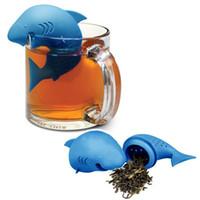 Filtro De Chá De Chá Em Forma De Tubarão / Infusor Máquina De Chá De Folhas Soltas