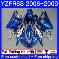Body For YAMAHA Top azul brillante YZF R6 S R 6S YZF600 YZFR6S 06 07 08 09 231HM.13 YZF-600 YZF R6S YZF-R6S 2006 2007 2007 2009 Carenados