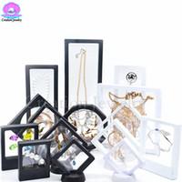 Scatola del titolare del display del telaio flottante 3D dell'ingrosso di alta qualità con stand per le monete della sfida, medaglioni, gioielli