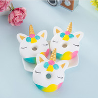 40PC Jumbo Unicorn Donut Squeeze Cake Bread Squishies Cream ...