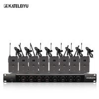 System 8600B Professional Wireless Microphone 8 Channel Prof...