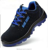 الرجال أحذية العمل السلامة الصلب تو الدافئة تنفس الرجال عارضة الأحذية ثقب أحذية العمل والدليل التأمين حجم كبير 35 --- 50