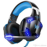 PVFLYMK G2000 Stereo Gaming Headset LED Light Earphone Noise...