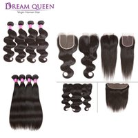 Brazilian Unprocessed Human Hair Extensions Body Wave Straig...