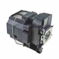 Wishubuy 고품질 교체 램프 ELPLP77 엡손 프로젝터 EB-4650 EB-1985WU EB-1980WU EB-4550 EB-4650 하우징 빠른 배송