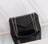 حقائب نسائية جلد الغنم جلد طبيعي سيدة المحافظ سلسلة حزام الأزياء حقائب اليد حقيبة الكتف لو السيدات محفظة حقيبة