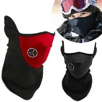 Cycling Mask Motorcycle Windproof Ski Winter Warm Half Face ...