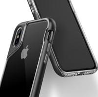 Estuche para teléfonos de moda para IphoneX, Iphone 7, iphone8, Iphone 7PLUS / 8PLUS, TPU + Material de PC, sensación cómoda