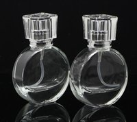 New 8. 5*5. 5cm 20ml Clear Glass Empty Perfume Bottles Atomize...