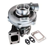 T3 T4 T04E .63 A / R Universal-Turbo-Turbolader für 1.6L-2,5l 3.2L-5,0L 400HP für Civic CRX 88-91 D16 D16 Y7 D16-Ladegerät