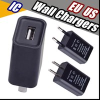 2018 US EU Plug USB Wall Chargers 5V1A IC Adapter Travel Con...