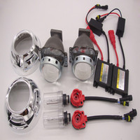 3,0 polegadas Mini HID Bi-xénon projector Lente Xenon lâmpadas de farol Kit D2S H4 H1 H7