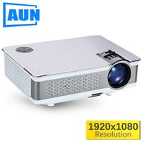 AUN Full HD Projector. AKEY5 SU. 1920 * 1080P, 3.800 Lumen, Android Beamer con WIFI, Bluetooth, TV LED. AKEY5 IMP-5803 opzionale