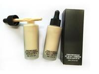 Chaude Maquillage Fondation STUDIO WATERWEIGHT Fondation Liquide 30 ml 6 couleurs Haute qualité DHL gratuite