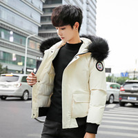 Loose Fur Hoodies Winter Jacket Men Warm Pockets Casual Shor...