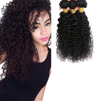 Peruvian Curly Human Hair Weave 1b 100% Virgin Unprocessed 7...