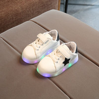 New 2018 Cool LED lighted fashion new brand breathable child...