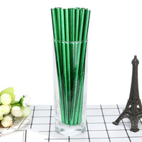 25pcs 5color Fruit Strawberry Paper Straws for Birthday Wedd...