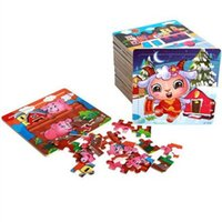 New Wooden 20 pieces Jigsaw Puzzle Kindergarten Baby Toys Ch...
