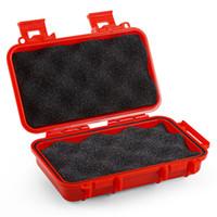 Herramientas para acampar seguro Frist ayuda a prueba de agua caja de Carry hermético supervivencia caja de herramienta de contenedores a prueba de golpes Caja EDC seguro de supervivencia