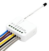 2 * 1500W EU US fréquence relais double dans le mur commutateur Z-Wave insert TZ06 pour le contrôle de la maison intelligente