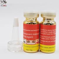 15 ml Microblading Pigment Sabitleme Ajanı Kalıcı Makyaj Mürekkep Renk Kilit Yardımı Sıvı Munsu Dövme Kaş Sabit hat