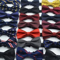 Handsome BowTie Mens Dress Tie Cheap Wedding Business Formal...