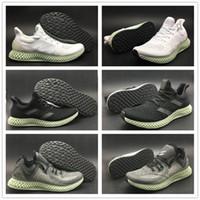 info for d28a9 a88bb TOP AlphaEdge 4D LTD Tecnología de impresión Zapatillas de running  Futurecraft Gris Negro Blanco para hombre