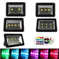Luce di inondazione del LED di 3 anni 200W 300W 400W 500W 600w RGB / caldo / freddo Proiettori di progetto di Whit Impermeabile Illuminazione esterna della lampada 85-265v
