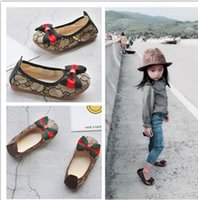 New Fashion Girls shoes Designer Bambini per bambini Casual Style Shoes Scarpe modello coreano cuciture per neonati