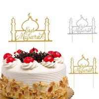 Cake Toppers Eid Mubarak Cake Topper Wedding Baby Shower Bir...
