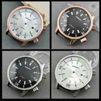 Debert серебро/розовое золото стали 45 мм корпус часов+набор набора DG2813,Miyota 82 серии механизм