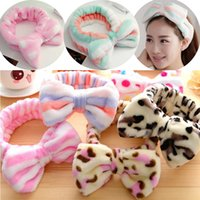 Bowknot Headband Lady Charm Forehead Hairband Headwrap Sport...